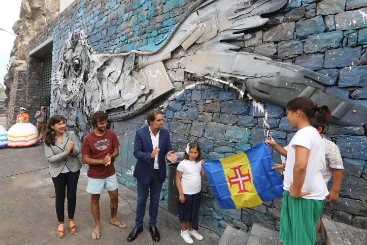 Inauguração Mural Câmara de Lobos5