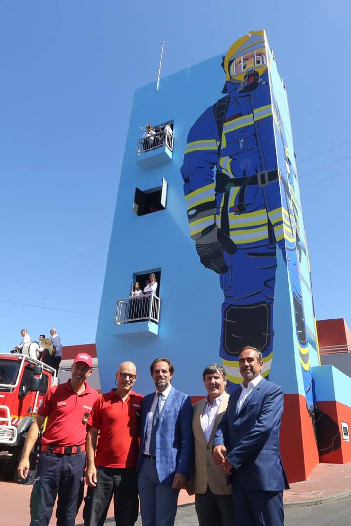 Albuquerque bombeiros Câqmara de LOBOS