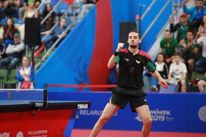Marcos Freitas nas meias finais Bulgaria