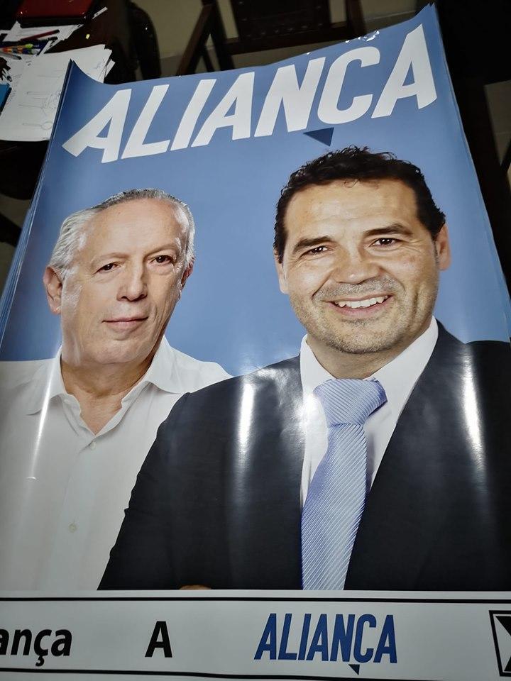 Aliança cartaz legislativas