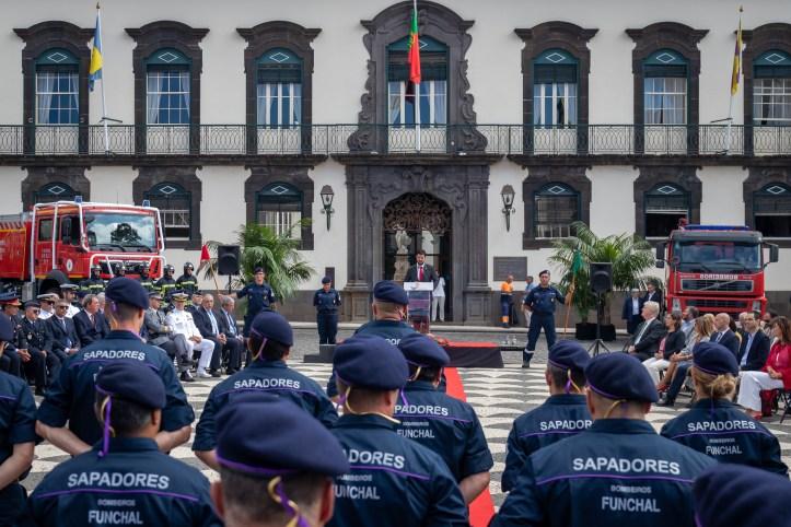 Bomberos sapadores Funchal aniversário