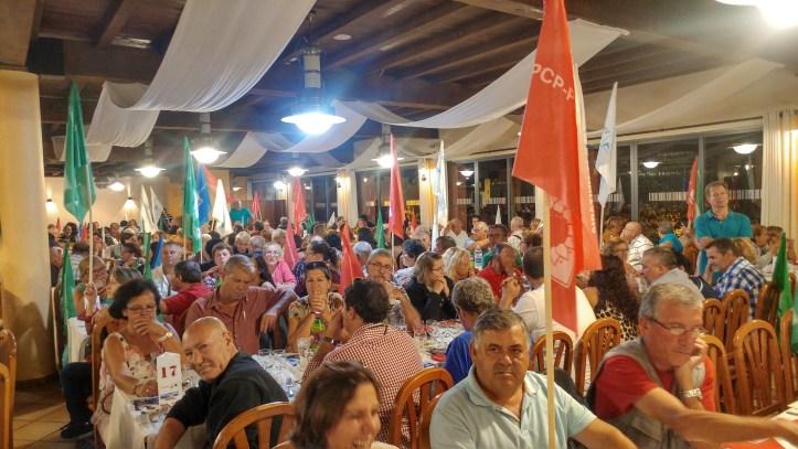 CDU jantar Encumeada