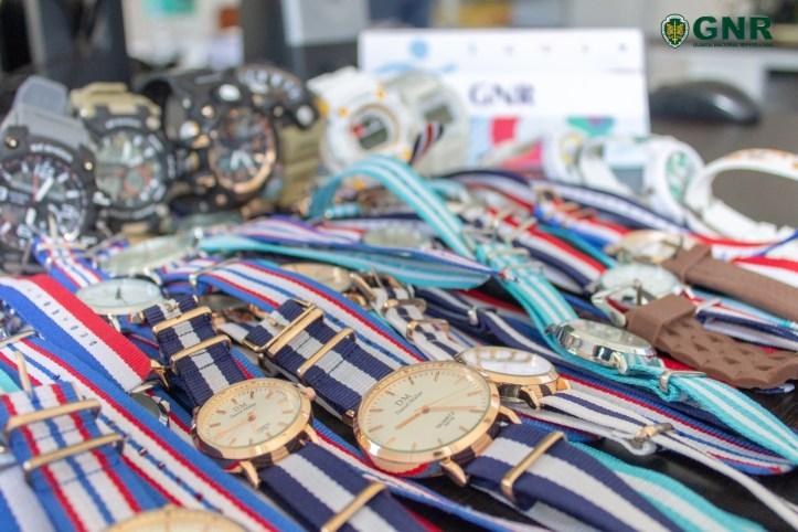 GNR Madeira- Apreensão de relógios