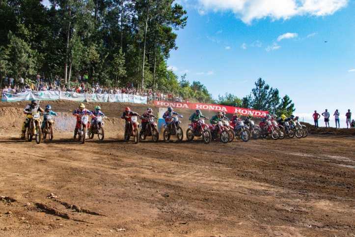 Motocrosse partida