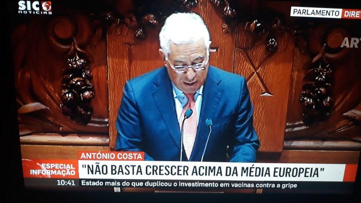 António Costa programa de governo