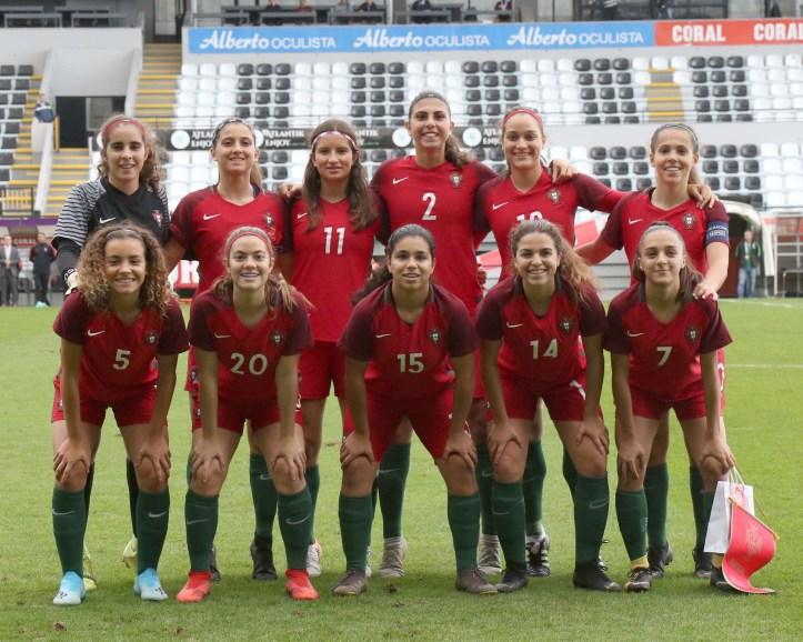 Femininos Portugal sub 17 2019 Madeira