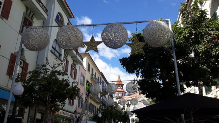 Funchal luzes de Natal D