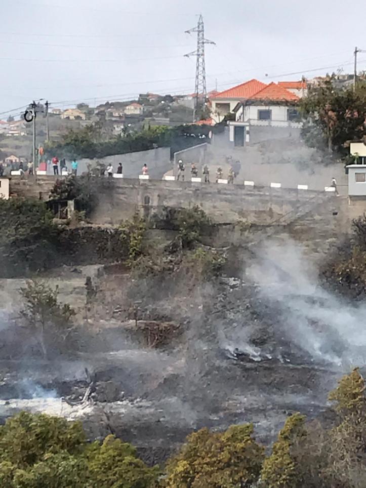 Incendio Lombo de São João Ponta do Sol