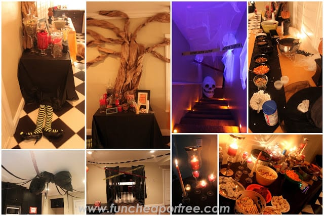 Celebrate the season with these frightfully fun decorating tricks. Easy Halloween Party Ideas On A Budget Fun Cheap Or Free