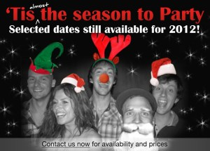 Selected dates still available for 2012