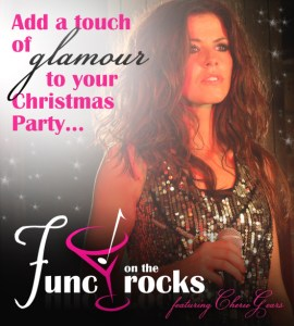 Add a touch of glamour to your Christmas Party with Func On The Rocks