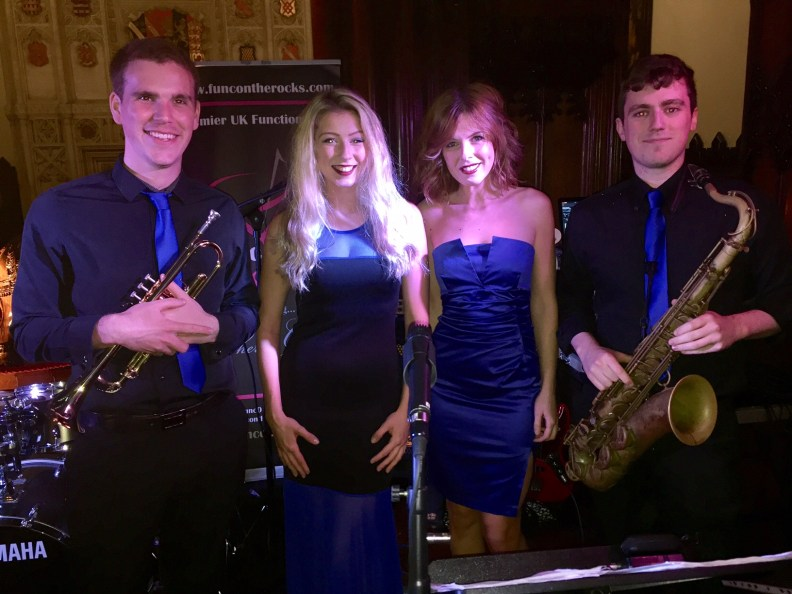 Brass section Singers