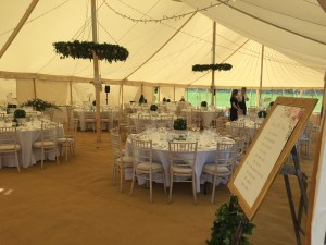 Wedding Breakfast Marquee Yorkshire