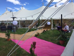 Marquee Wedding Reception Pianist Live Music
