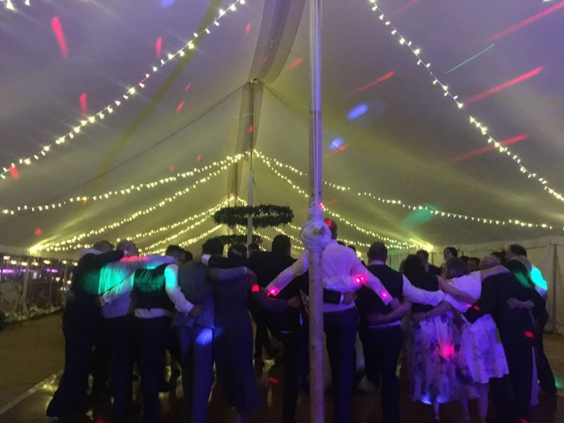 Wedding Marquee Party Live Music