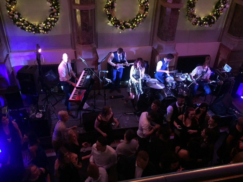 Christmas Party Band Aspire Leeds Venue