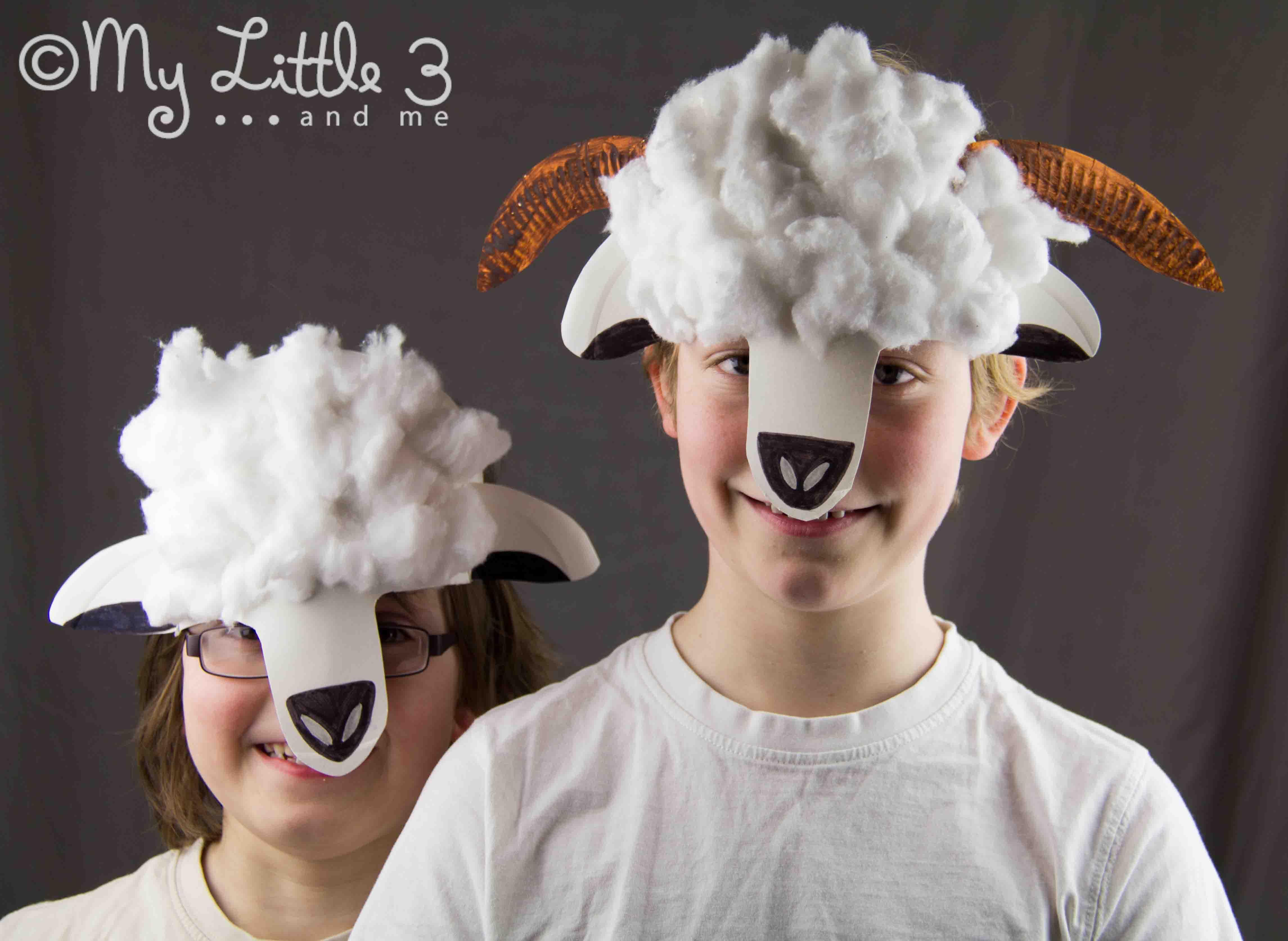 Sheep Mask Craft