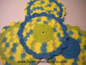 Flower Power Dishrag