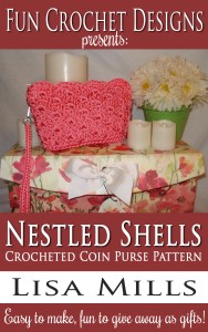 The Nestled Shells Crocheted Coin Purse Pattern on Amazon