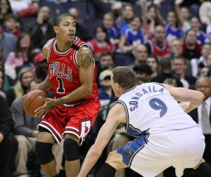 Derrick Rose: one of the top Point Guards in the NBA (Source: Keith Allison)