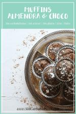 Muffins de Almendra & Chocolate Sin Harina | Cetogénicos