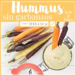 Hummus Sin Garbanzos | Cetogénico y No Inflamatorio