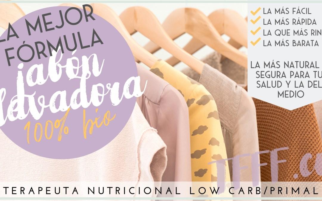DETERGENTE CASERO PARA LAVADORA. 1 SOLO INGREDIENTE. JABÓN LÍQUIDO 100% NATURAL