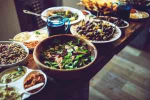 food salad healthy vegetables thanksgiving