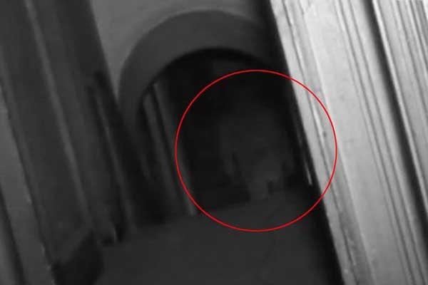 पहली बार सामने आया भूत का वीडियो