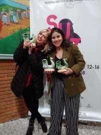 Marina Azze e Elisa Aleva no Festival Curta Suzano 2 (foto divulgação)