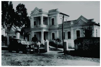 Hospital Regional do Sul de Minas – patrimônio histórico de Varginha/MG desde 2000. Construção: 1919 a 1923.