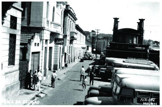 Estação Ferroviária – patrimônio histórico de Varginha/MG desde 2000. Construção: 1934.