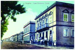 Avenida Rio Branco esquina com Rua Deputado Ribeiro de Rezende. Início do séc. XX.