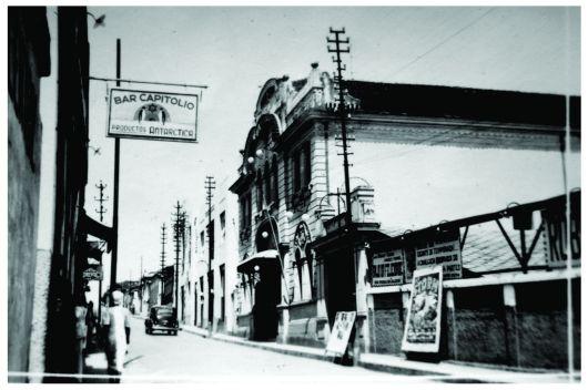 Theatro Municipal Capitólio – patrimônio histórico de Varginha / MG desde 2000. Construção 1927.