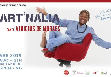 Mart'nália canta Vinicius de Moraes no Theatro Capitólio