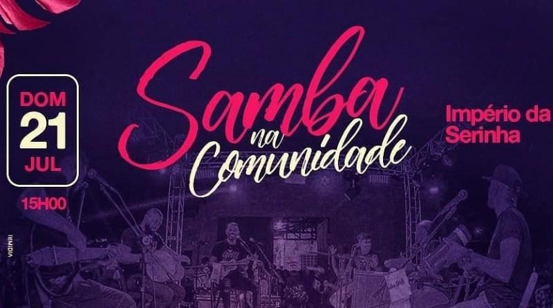 Pedrinho do Cavaco e Grupo Griff agitam Samba na Comunidade neste domingo