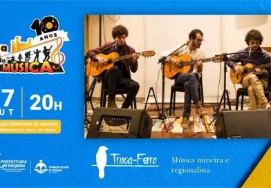 Banda Trinca-Ferro vem de Juiz de Fora para se apresentar no 5ª da Boa Música