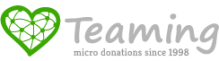 Donativo con Teaming