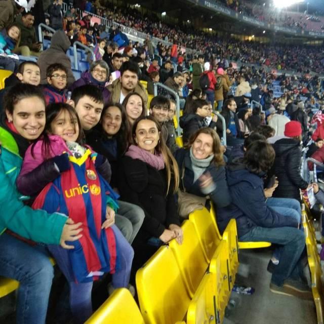 Grada Friends culer al BaraMurcia copadelrei Grcies Bara!! fcbarcelona FundaciFriendshellip