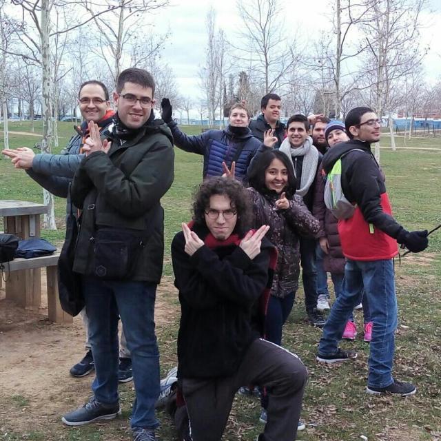 Casal Friends al lasertag Alienzone de Sant Cugat grup starwarshellip