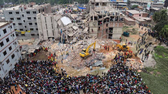 derrumbe edificio plaza rana