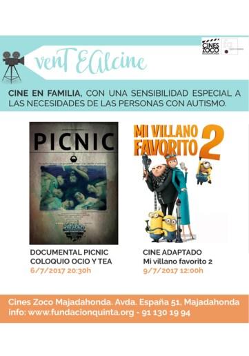 VenTEAlcine Fundación Quinta cine adaptado al autismo