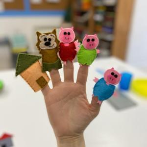 Marioneta de dedo FQ