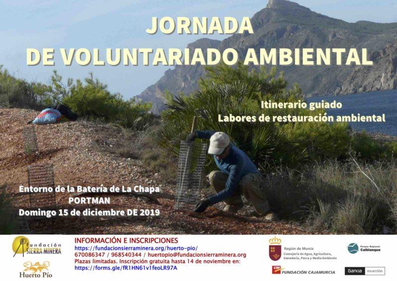 Jornada de Voluntariado Ambiental en La Chapa