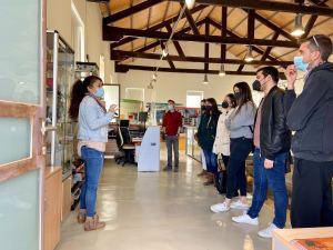 """Visita de los jóvenes del programa """"empleo con entidades sin ánimo de lucro"""" al Centro de Interpretación de la Mina Las Matildes"""