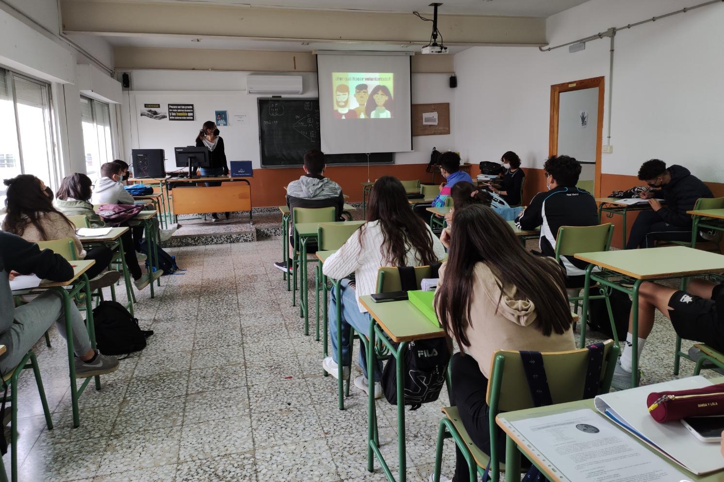 El proyecto 'Actúa' aterriza en cinco centros educativos de la Sierra Minera