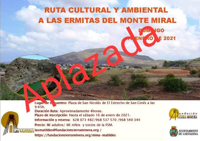 Ruta ambiental y cultural ermitas del Monte Miral