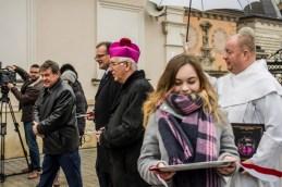 Otwarcie Wystawy 'Biżuteria patriotyczna i pamiątki historyczne XIX i XX wieku - Jasna Góra - 4 grudnia 2018 r. - fot. Andrzej Famielec IMGP2302