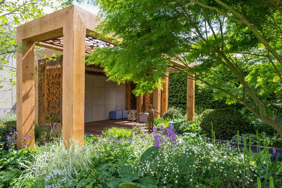 chcemy, by tak wyglądał nasz ogród społeczny - chelsea flower show londyn - morgan stanley