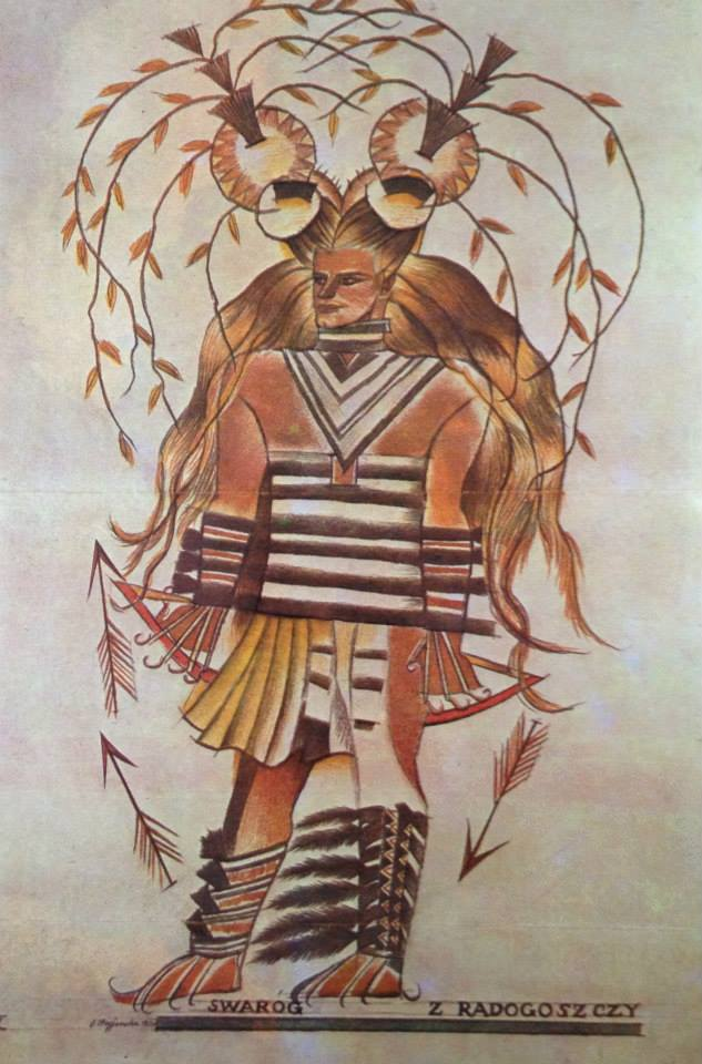 Słowianie - mitologia słowiańska - Swaróg
